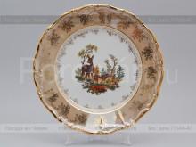 "Набор тарелок 25 см. ""Охота Бежевая"" МЛ Carlsbad"