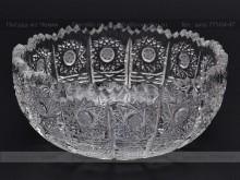 Ваза для варенья 11.6 см. хрусталь снежинка Glasspo