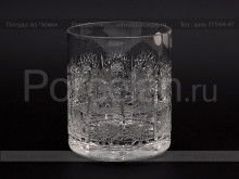Набор стаканов 330 мл. хрусталь снежинка Glasspo