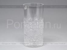 Набор стаканов 350 мл. хрусталь снежинка Glasspo